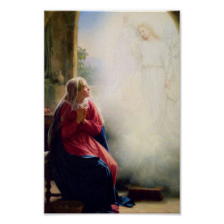 19th Century Annunciation Print