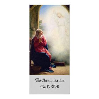 19th Century Annunciation Rack Card
