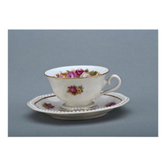 19th century coffee cup and saucer, Rosenthal, Ger Custom Invites
