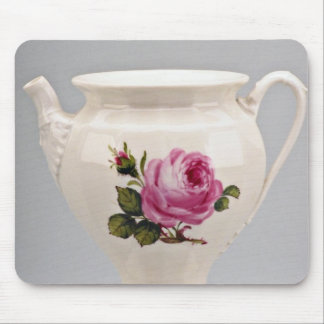 19th century creamer, Meissen, Germany  flowers Mousepad