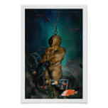 19th Century Diving Suit Posters