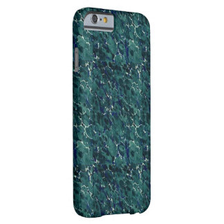 19th Century Endpaper Design Perfect Blue Green Barely There iPhone 6 Case