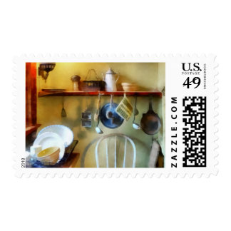 19th Century Farm Kitchen Postage