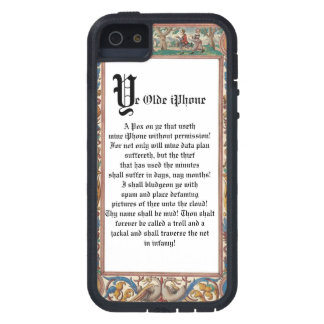 19th Century Framed iPhone with a Pox Warning! Case For iPhone SE/5/5s