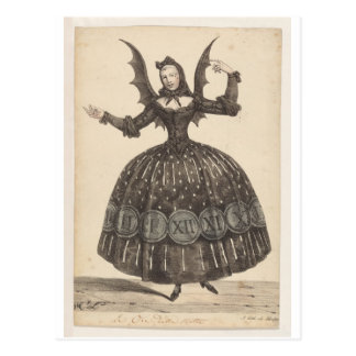 ​19th-Century French Ballet Costume Postcard