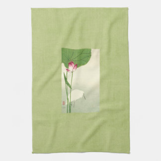 19th Century Japanese Bird Hand Towels