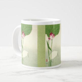 19th Century Japanese Bird Large Coffee Mug