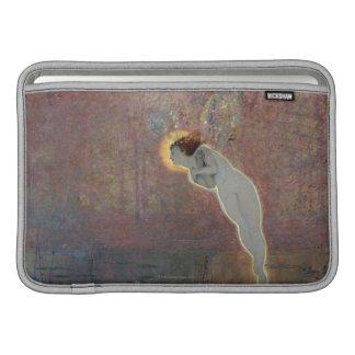 19th century painting of angel MacBook air sleeves