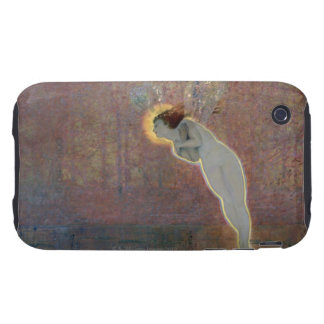 19th century painting of angel tough iPhone 3 cover