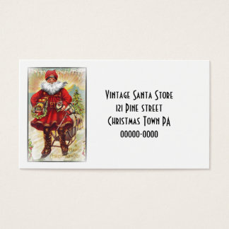 19th Century Saint Nicholas Business Card