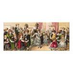 19th Century Scottish Children's Ball Invitation