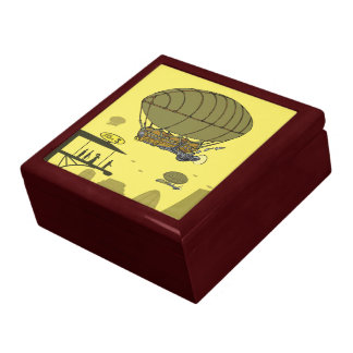19th century steampunk gift box