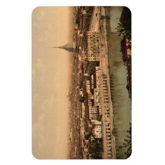 19th Century Turin , Piedmont, Italy Rectangular Photo Magnet