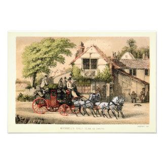 19th Century Victorian Stagecoach Photo Print