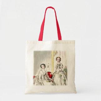 19th Century Wedding Budget Tote