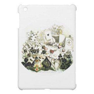 19th Century Wonderland-esque Woodcut Cover For The iPad Mini