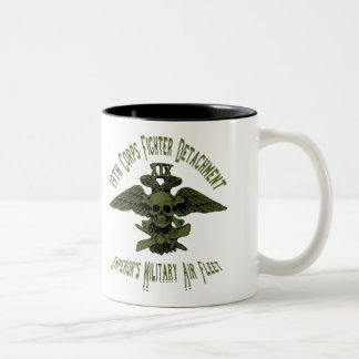 19th Corps Fighter Cup Green Mugs