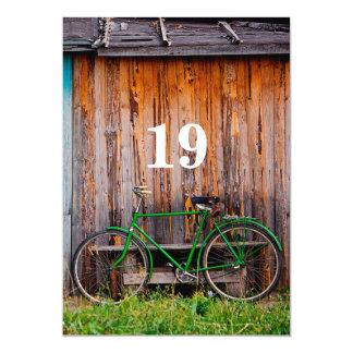 19th Cyclist Birthday Celebration Invitation