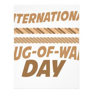 19th February - International Tug-of-War Day Letterhead