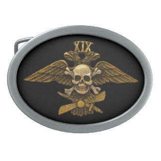 19th Fighter Detachment in Gold Belt Buckle