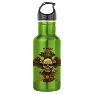 19th Fighter Squadron Gold Water Bottle