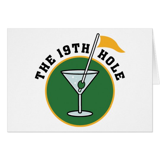 19th Hole Card