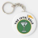 19th Hole Keychain