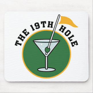 19th Hole Mouse Pad