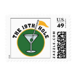 19th Hole Postage Stamp