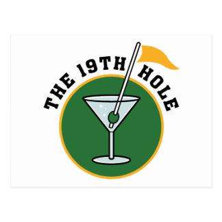 19th Hole Post Card