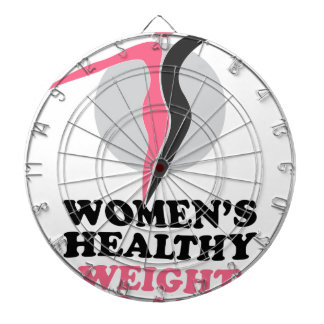 19th January - Women's Healthy Weight Day Dartboard With Darts