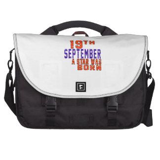 19th September a star was born Computer Bag