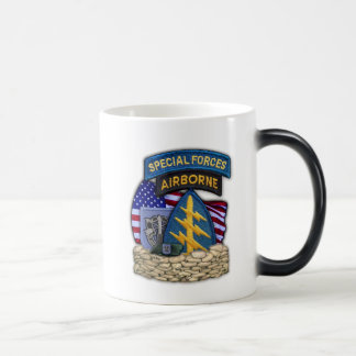 19th Special forces Green Berets vets flash Cup Coffee Mug