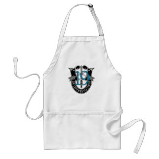 19th Special Forces Group Crest Adult Apron