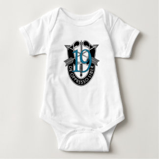 19th Special Forces Group Crest Baby Bodysuit