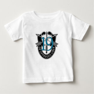 19th Special Forces Group Crest Baby T-Shirt