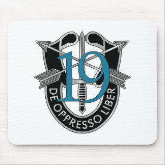 19th Special Forces Group Crest Mouse Pad