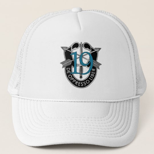 19th Special Forces Group Crest Trucker Hat