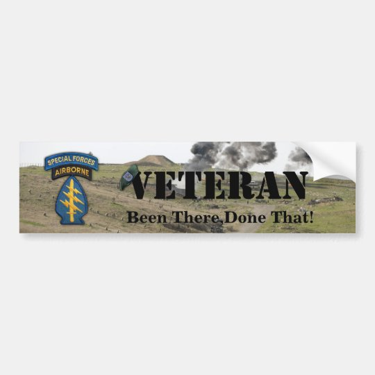 19th special forces group flash bumper sticker