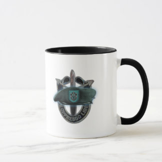 19th Special forces group green beret son iraq Mug