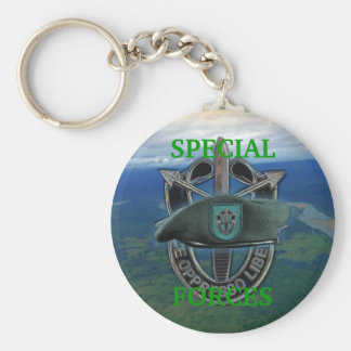 19th special forces group green berets Keychain