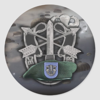 19th Special forces group Green Berets son Sticker
