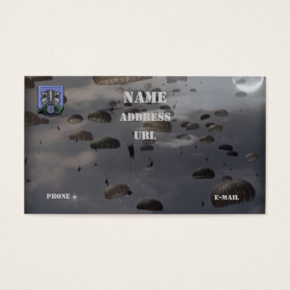 19th special forces group vets flash business Card