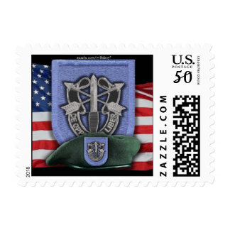 19th Special Forces iraq Green Berets Postage Stam