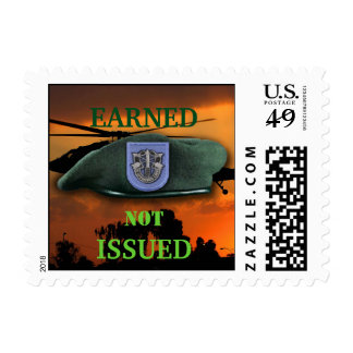 19th Special Forces veterans Green Berets SF SOF Postage