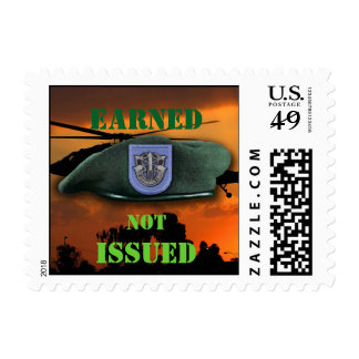 19th Special Forces veterans vets Green Berets Postage
