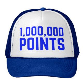 1,000,000 POINTS fun slogan trucker hat