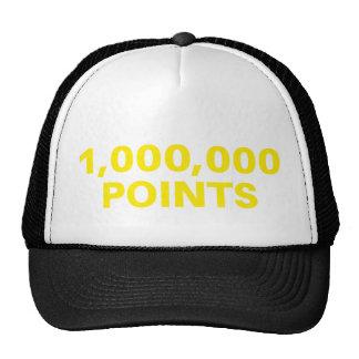 1.000.000 PUNTOS del lema del gorra divertido del