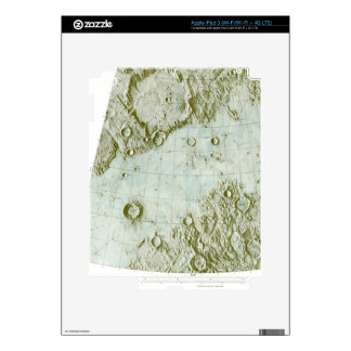 1:000 000 scale lunar chart decals for iPad 3