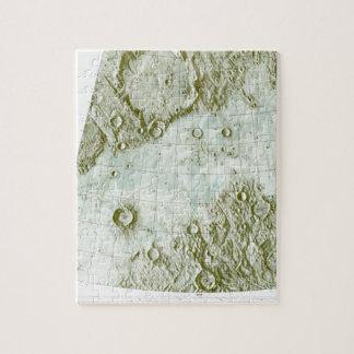 1:000 000 scale lunar chart jigsaw puzzle